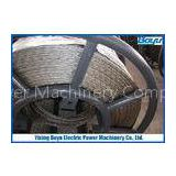 20mm Breakage tension 250kN Anti-twisting Braided Steel Wire Rope Transmission Line Stringing 12 Str
