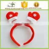 Holiday glowing decorating lighted christmas hairband