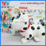 intelligent plastic battery operated dog toy for kids
