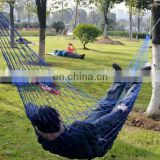 Cheap Portable Camping Hammocks single Nylon Mesh Hammock