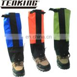 hotsale water proof snake repellent leg sleeves for mounting climbing skiing treking