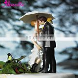 A07370 Wholesale Resin Bride&Bridegroom Cake Toppers