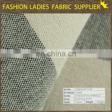 China manufacture polyester faux linen fabric,57%linen 43%poly linen fabric