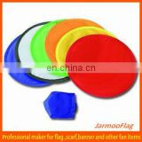 mini folding polyester flying disk for kids play