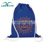 2016 wholesale blue custom promotion tote gift bag