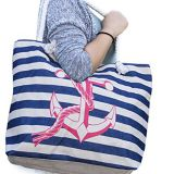 large capacity summer beach bags with rope handle for selling
