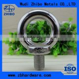 High Quality DIN580 Stainless Steel AISI304/316 Casting Lifting Eye Bolts M6-M52 Eye Bolt