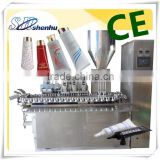 Soft Tube/ Cosmetic /toothpaste/pharmaceutics/food/Filling and Sealing packing Machine                                                                         Quality Choice