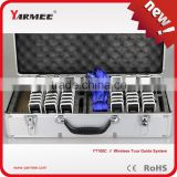 Yarmee Wireless Tour Guide Systems & Portable Transmitters / Receivers With Charge Case