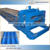 Trapezoidal Wall & Roof Sheets Cold Forming Machine/Metal Tiles Cold Stamping Machine