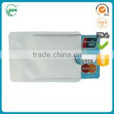 Hot sale Identity Stronghold Credit & Debit Card RFID Blocking Sleeve                                                                         Quality Choice