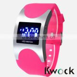 New Fashion Red Silicone Digital Led Wrist watches