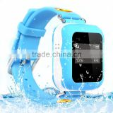Silicon Wristband kids gps bracelet gps watch tracker for children's security---Caref watch tracker