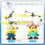 Mini Qute RC remote control flying cartoon despicable me model plastic doll action figures kids Electronic toys NO.MQ 138