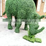 High quality artificial milan grass fake animal shape grass fake plants for decoration wholesale