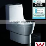 sanitary ware EAGO ceramic P-trap water closet two piece washdown toilet WA332P toilet bowl