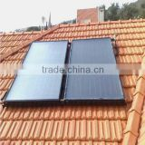 split industrial solar water heater manufacturer with flat plate soalr collector& flat panel solar water heater