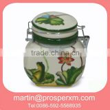 ceramic airtight coffee colorful canister