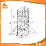 Hot selling OEM factory aluminium rolling tower scaffolding made in china