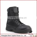 China Army Safety boots black patent leather military boot,Genuine Leather Military Boots For Men //fashion boots military boots