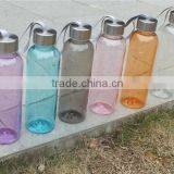 2014 new design 350ML various color unbroken plastic bottles ,portable transparent airproof bottles