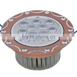 CE IEC RoHS Approved high quaty indoor recessed carved LED ceiling lamp 5w/7w/9w/12w/15w/18w