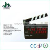Electronic LED movie clapper board gift decorative wall clock                                                                         Quality Choice
