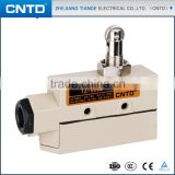 CNTD Factory Supply Heavy Duty Door Micro Limit Switch with Roller Plunger for Sliding Doors/Windows TZ-6002