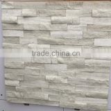 Popular Timber White Marble culture stones, Stack Stones, Ledge Stones, Veneer Stones