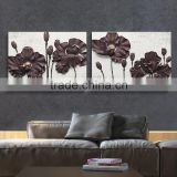 Flower Oil Painting On Canvas wall decorations fashion resin relief oil painting
