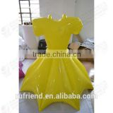 Golden inflatable Christmas decorations inflatable costumes