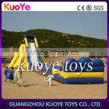 Giant Inflatable water slides for adult,large plastic water slide for sale, inflatable hippo slide manufacturer
