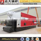 steam capacity at 2000kg/hr to 8000kg/hr biomass coconut shell or rice hull fuel steam boiler