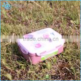 PP Plastic Material and Storage Boxes&Bins Type Dishwasher and Freezer Microwave Safe Rectangle Lunch Box /