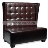 hotel sofa furniture/reception leisure furniture / alibaba express KTV leather sofa furniture HS15