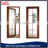China gold supplier Popular UAS&Australia style aluminum frame exterior entry door                                                                                                         Supplier's Choice