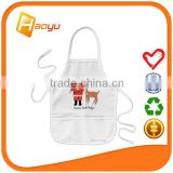 Christmas custom kids apron for cotton fabric                                                                         Quality Choice