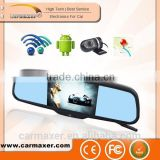 "5"" Capacitive Screen Android4.0 1080P WIFI car DVR rearview monitor rearview mirror gps android for special car                                                                         Quality Choice"