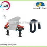 Railway track e type spring clip for rail fastening system