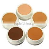 IMAGIC Powder Foundation In Makeup Pressed Face Concealer Natural Mineral Cosmetics Palette Beauty Tools
