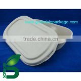 biodegradable eco freindly Food Packing container Bamboo lid
