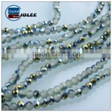 Faceted Rondelle glass beads in bulk cheap beads making China supplies wholesale beads for wedding clothes