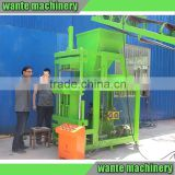 WT2-10 automatic clay brick manufacturing plant cement interlocking brick making machine