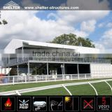 25x35m Double Story Shelter Glass Tents For Events Aluminum Double Story Shelter Events Tents For Sale