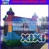 Children inflatable bouncer for sale, commercial quality 0.55mm PVC tarpaulin bouncy castle