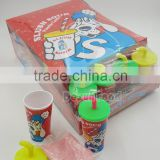 New item cup shape slush sour powder candy