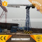 Concrete Placing Boom Floor Climbing Type Elevator Well Shaft Climbing Type / Spider concrete placing boom for sale