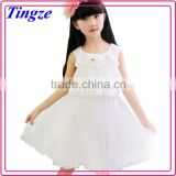 Latest children clothes design beautiful party kid dress for little girl baby dress wholesale