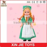 customize plastic national doll