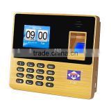 Heshi P-80 fingerprint screen attendance machine with usb record/biometric fingerprint device for employee's attendance